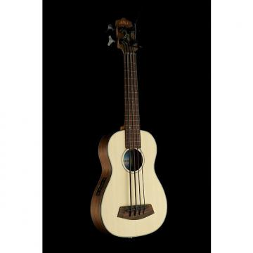 Custom Kala U-Bass. Spruce Top