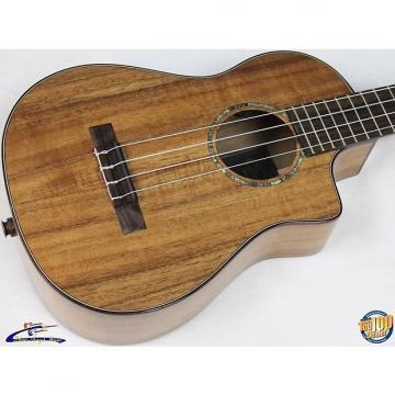 Custom Cordoba 35T-CE Acoustic-Electric Tenor Ukulele w/Gig Bag Solid Acacia NEW #30497