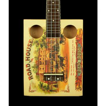 Custom New! Eddy Finn EF-CGBX-1 Road House Cigar Box Concert Ukulele