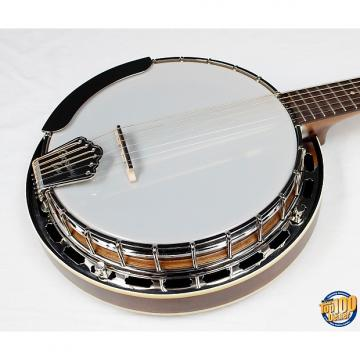 Custom Recording King Madison 6-String Banjo RK-G25, Maple Resonator Neck & Rim! #21537