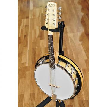 Custom ALABAMA 7928R - 8 STRINGS MAPLE MANDOLIN BANJO with Maple Bottom - New! Free World Shipping!
