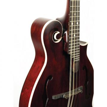 Custom Morgan Monroe MM-300WR F-Style Mandolin Wine Red