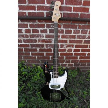 Custom 1986 Japanese Fender Squire Jazz bass black