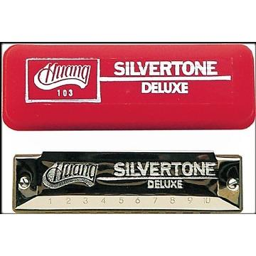 Custom Huang Silvertone Deluxe Harmonica, Key of D