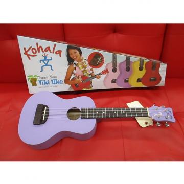 Custom Kohala ktcpu ukulele concert light purple