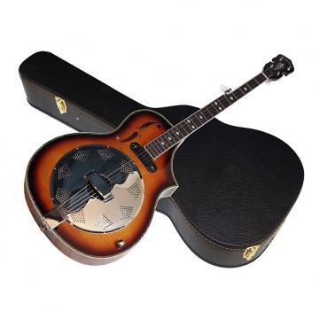 Custom GOLD TONE Dojo Deluxe acoustic electric 5-string Dobro BANJO w/ HARD CASE new