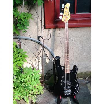 Custom Schecter Diamond Series electric bass 2014 black