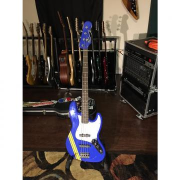 Custom SCANDAL TOMOMI Jazz Bass Bluetus with Hard Shell Case