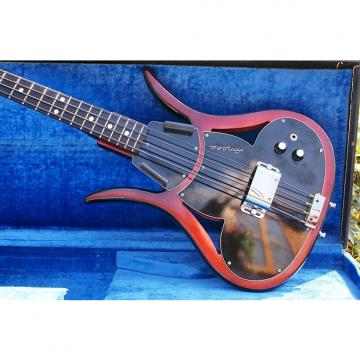 Custom Ultra Rare All Original 1966 Ampeg ASB-1 Devil Bass Red/Black & Original Hard Case