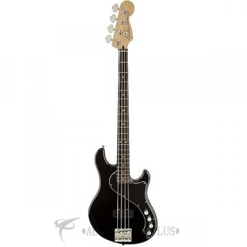 Custom Fender Deluxe Dimension Rosewood Fingerboard 4 String Electric Bass Guitar Black - 142600306