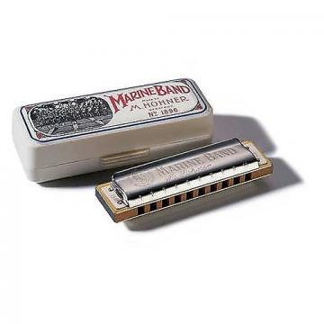 Custom Hohner 1896 Marine Band Harmonica - C Key