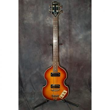 Custom Epiphone Viola Beatle Bass Excellent Condition Pro Setup Flatwounds Epi Gigbag 2014 2 Color Sunburst