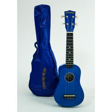 Custom Diamond Head Ukulele Blue