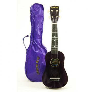 Custom Diamond Head Soprano Ukulele Purple