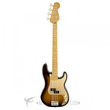 Custom Fender '50s Precision Maple Fingerboard Electric Bass 2 Color Sunburst - 0131702303 - 717669369828