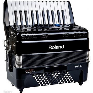 Custom Roland FR-1x Piano type V-Accordion Black FR1x-BK