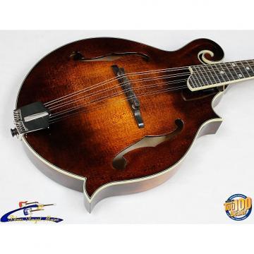 Custom Eastman MD515 Classic F-Style Acoustic Mandolin w/ Case, Solid Woods! #38268