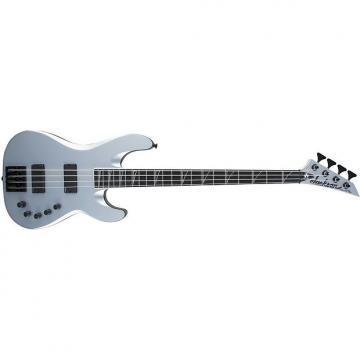 Custom Jackson USA Signature David Ellefson Concert Bass CB IV Ebony Fingerboard Satin Silver