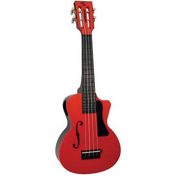 Custom Eddy Finn Beach Master Concert Ukulele Red