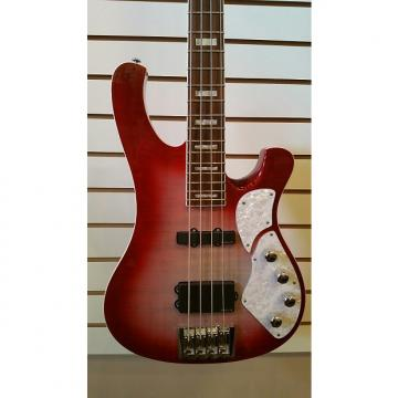 Custom Schecter Stargazer 4 Bass 2009 Crimson Ghost w/Road Runner case