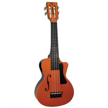 Custom Eddy Finn Beach Master Concert Ukulele Orange