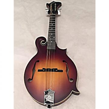 Custom The Loar LM-590-MS Contemporary Series F-Style Mandolin All Solid Hand Carved Satin Tobacco Sunburst