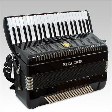 Custom Excalibur Ultralight Weltbestin Piano Accordion 7 Switch 2016 Black