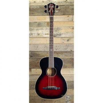 Custom Fender T Bucket Acoustic Electric Bass Guitar Trans Cherry Sunburst