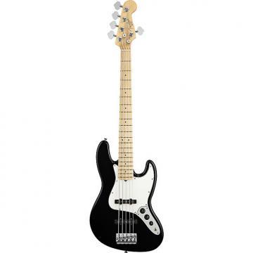 Custom Fender American Standard Jazz Bass V, Maple - Black