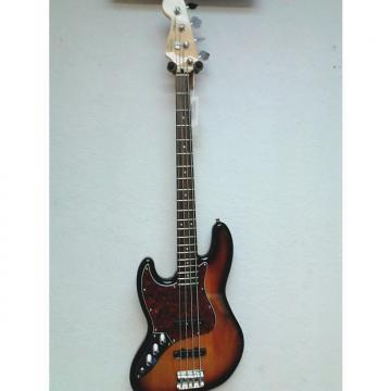 Custom Squier Jazz Bass 2015 3 Tone Sunburst