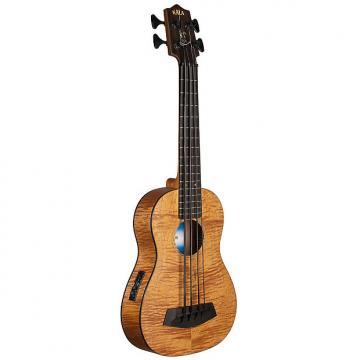 Custom Kala UBASS-EM-FS Exotic Mahogany U-Bass