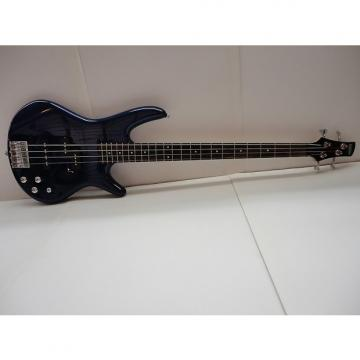 Custom Used Ibanez GSR200 4-String Bass Jewel Blue