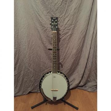 Custom Dean Backwoods 6-String Banjo late 2000s Natural