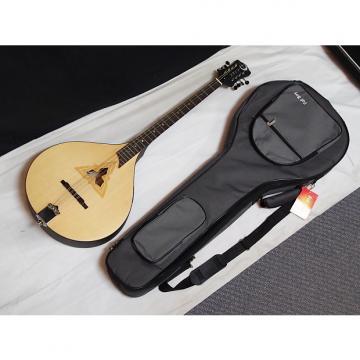 Custom LUNA Trinity BOUZOUKI V2 acoustic electric NEW w/ GIG BAG - Satin Natural