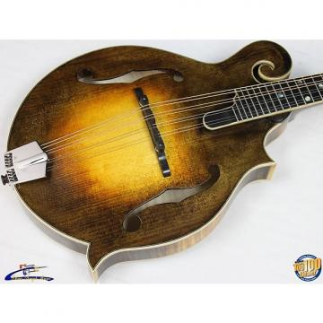 Custom Eastman MD915-SB Classic F-Style Mandolin w/ HFC Solid Woods Sunburst Demo 37587