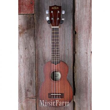 Custom Kala KA 15S Satin Mah Series Soprano Ukulele All Mah Body Satin Finish Uke