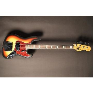 Custom Fender Vintage 1966 Jazz Bass Vintage Sunburst All Original Electric Bass Guitar (SN:173773)