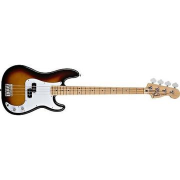 Custom Fender Standard Precision Bass (Brown Sunburst, Maple Fingerboard)