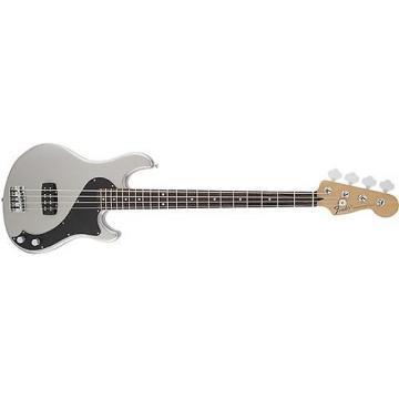 Custom Fender Standard Dimension Bass IV (Ghost Silver)