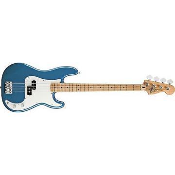 Custom Fender Standard Precision Bass (Lake Placid Blue, Maple Fingerboard)