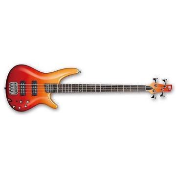 Custom Ibanez SR300E Electric Bass Guitar (Autumn Fade Metallic)