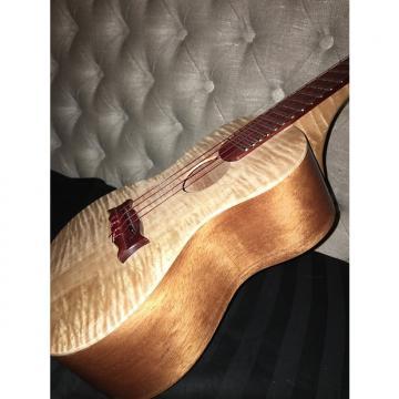 Custom Custom Handmade Concert Ukulele Mahogany and Curly Maple