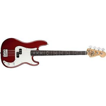 Custom Fender Standard Precision Bass (Candy Apple Red, Rosewood Fingerboard)