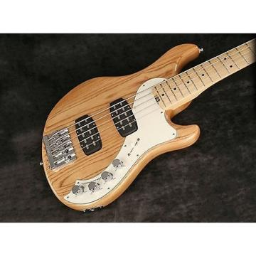 Custom Fender American Elite Dimension Bass V HH 5-String Electric Bass Guitar Natural (SN:US16018888)