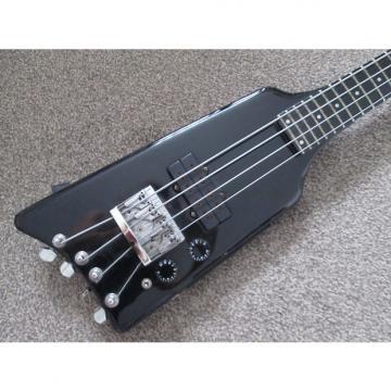 Custom Kramer The Duke De Luxe headless bass early eighties black
