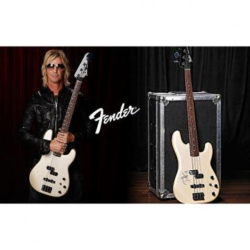 Custom Fender Duff McKagan Precision Bass 2016 Pearl White