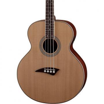 Custom Dean Guitars Eabcl Lefty Acoustic-Electric Bass - Natural