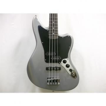 Custom Fender Standard Jaguar Bass 2016 Ghost Silver