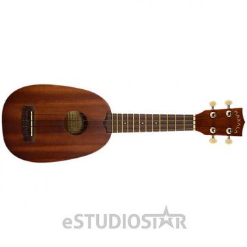 Custom Kala MK-P Makala Soprano Pineapple Ukulele w/ Mahogany Neck & Rosewood FB - Used, Customer return
