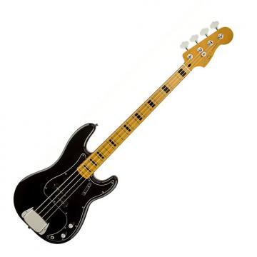 Custom Squier Classic Vibe P Bass '70s Maple Black